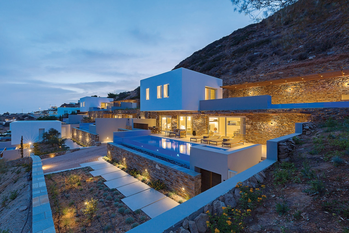 """HIDEOUT SUITES"", complex of suites in Ios, Cyclades"