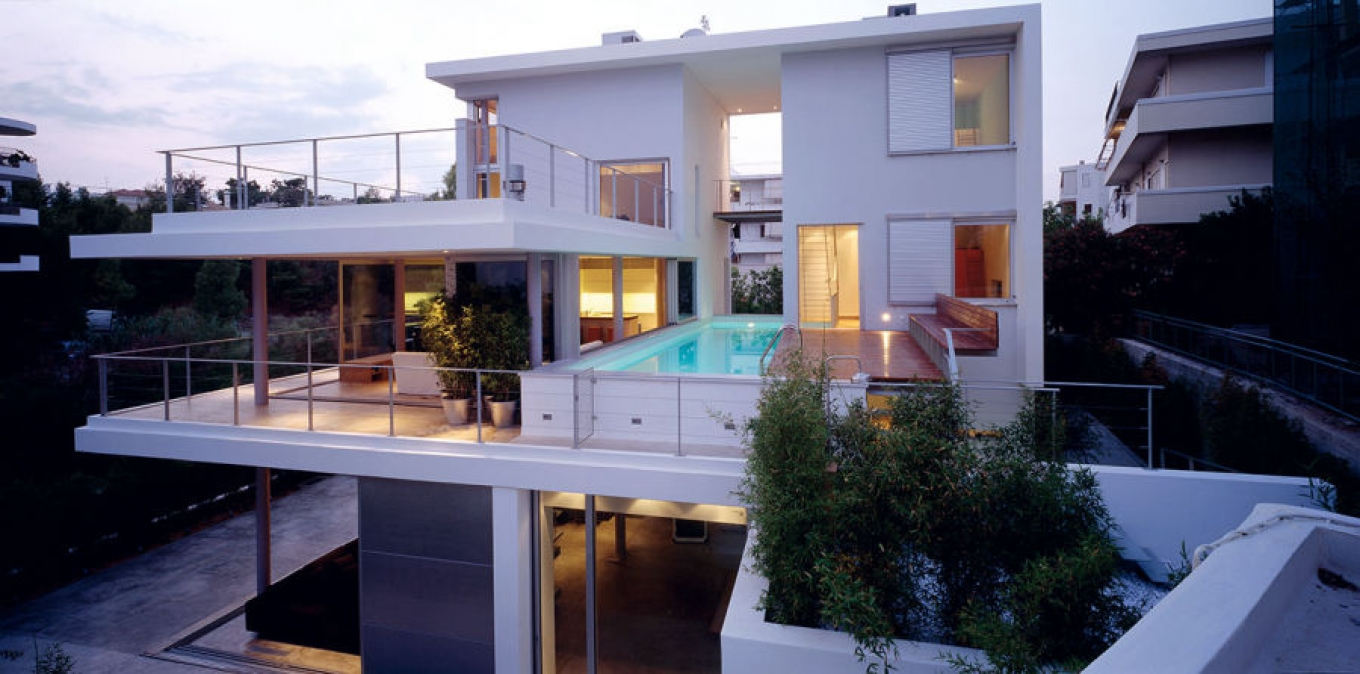 Double residence in Alimos