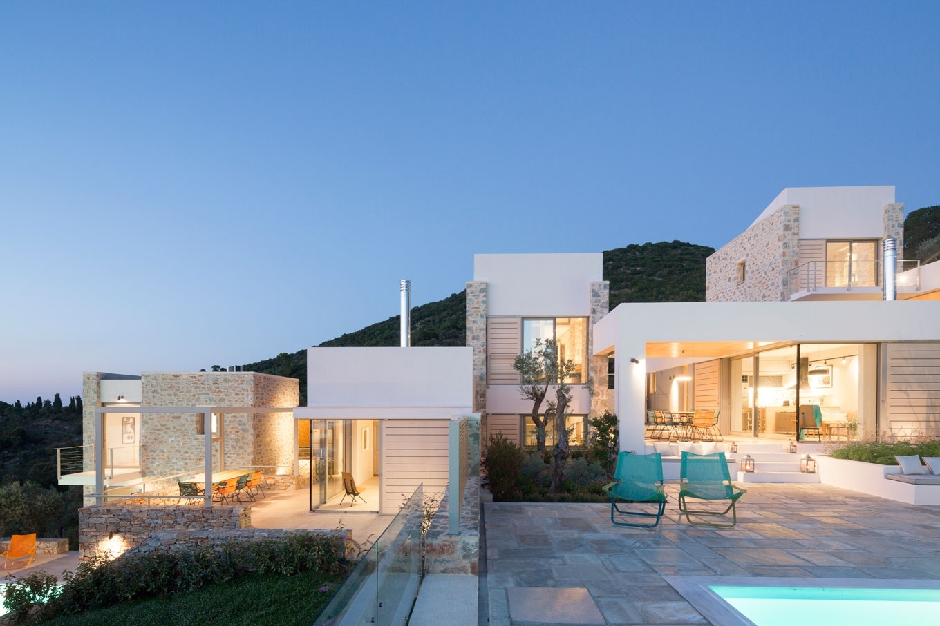 Three country houses in Skiathos